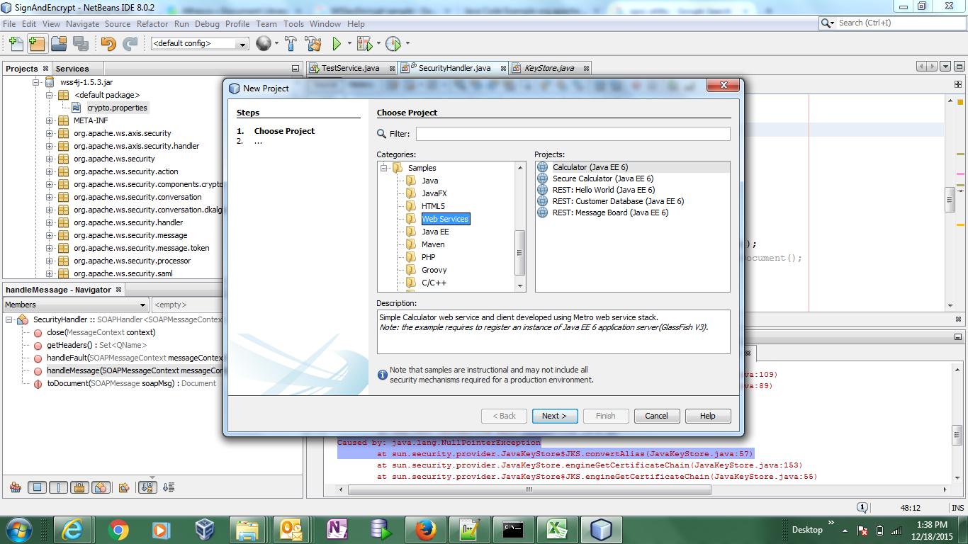 Jax ws security using wss4j baditri Choice Image