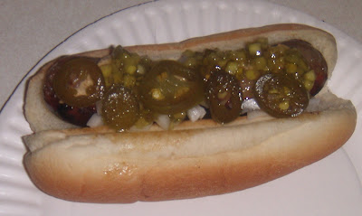 Pickled Jalapeno Hot Dog
