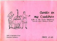 Garlic in my cauldron