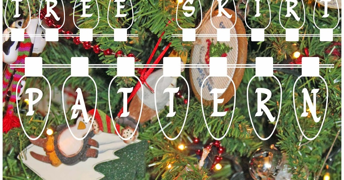 www.nap-timecreations.com: Christmas Tree Skirt FREE pattern