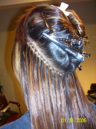Gaya Rambut Extension