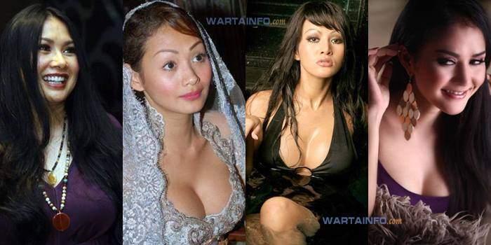 Foto Daftar Artis Bohay Bahenol Indonesia yang melakukan operasi plastik implan payudara buah dada
