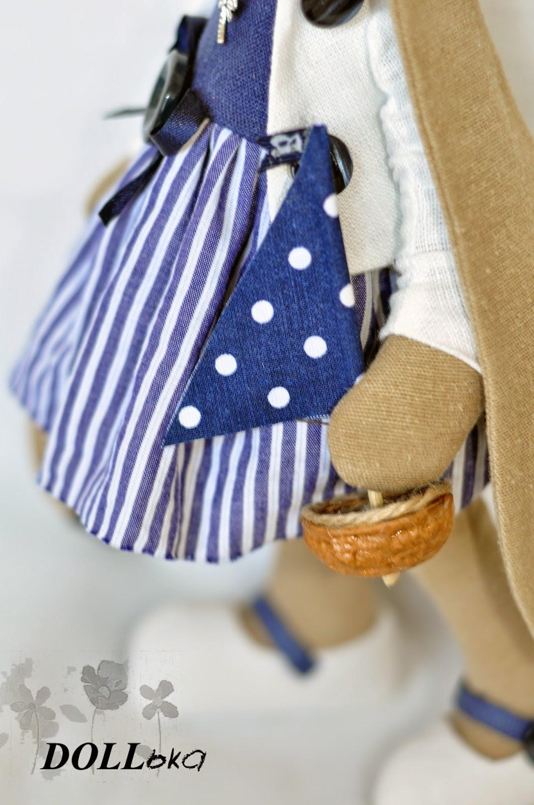 зайка в стиле тильда текстильная игрушка ручной работы