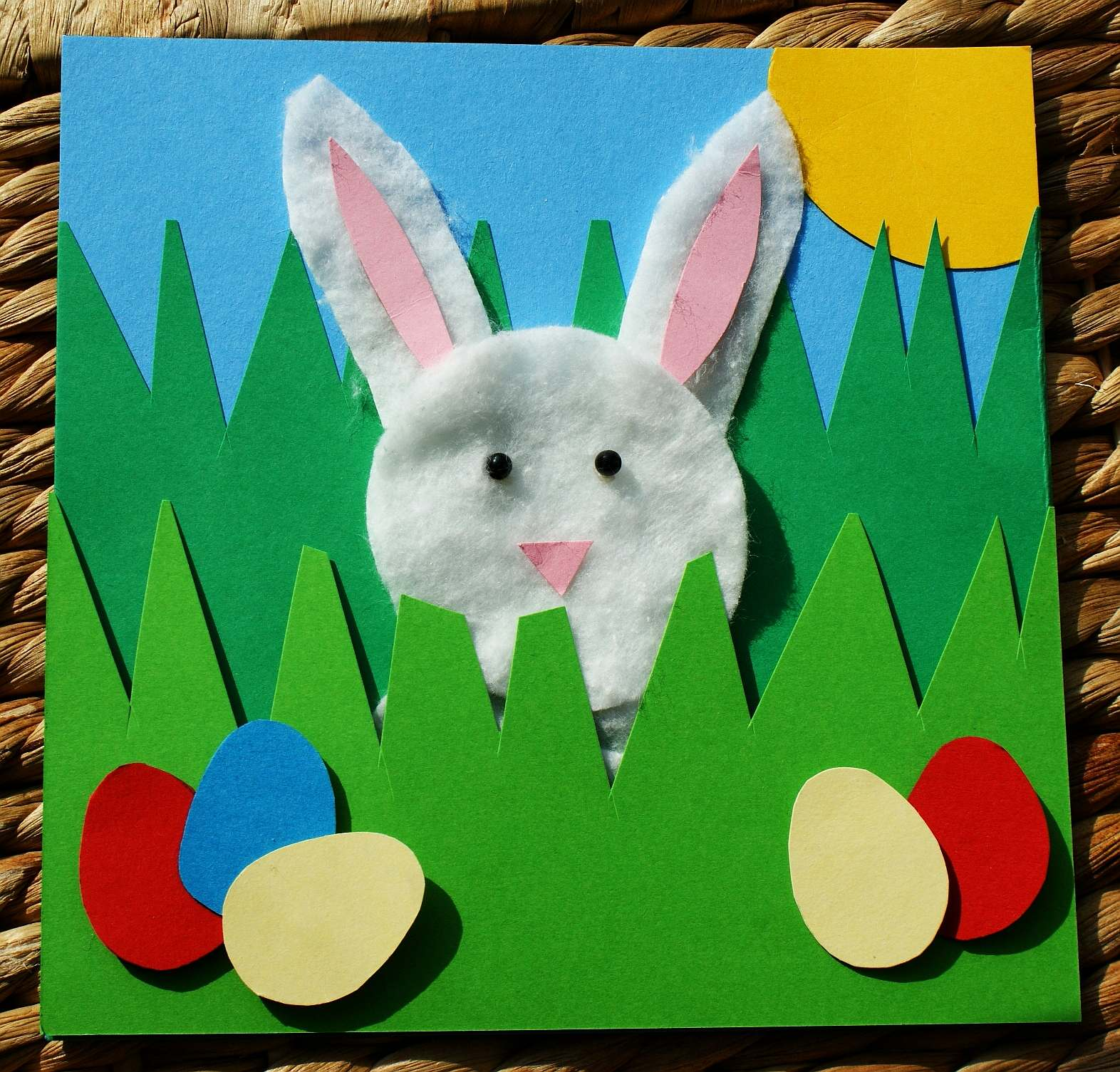 Easter Card Ideas For Children To Make Part - 45: Craft Magic