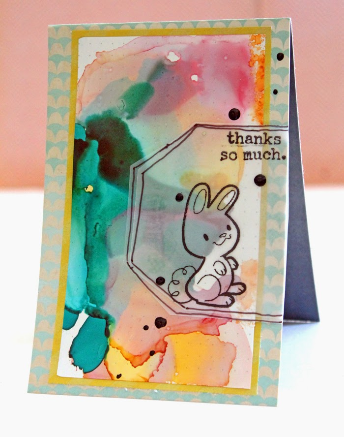 Heather Greenwood Designs | Guest Blogger Katie of Punk Projects shows 3 techniques using alcohol inks
