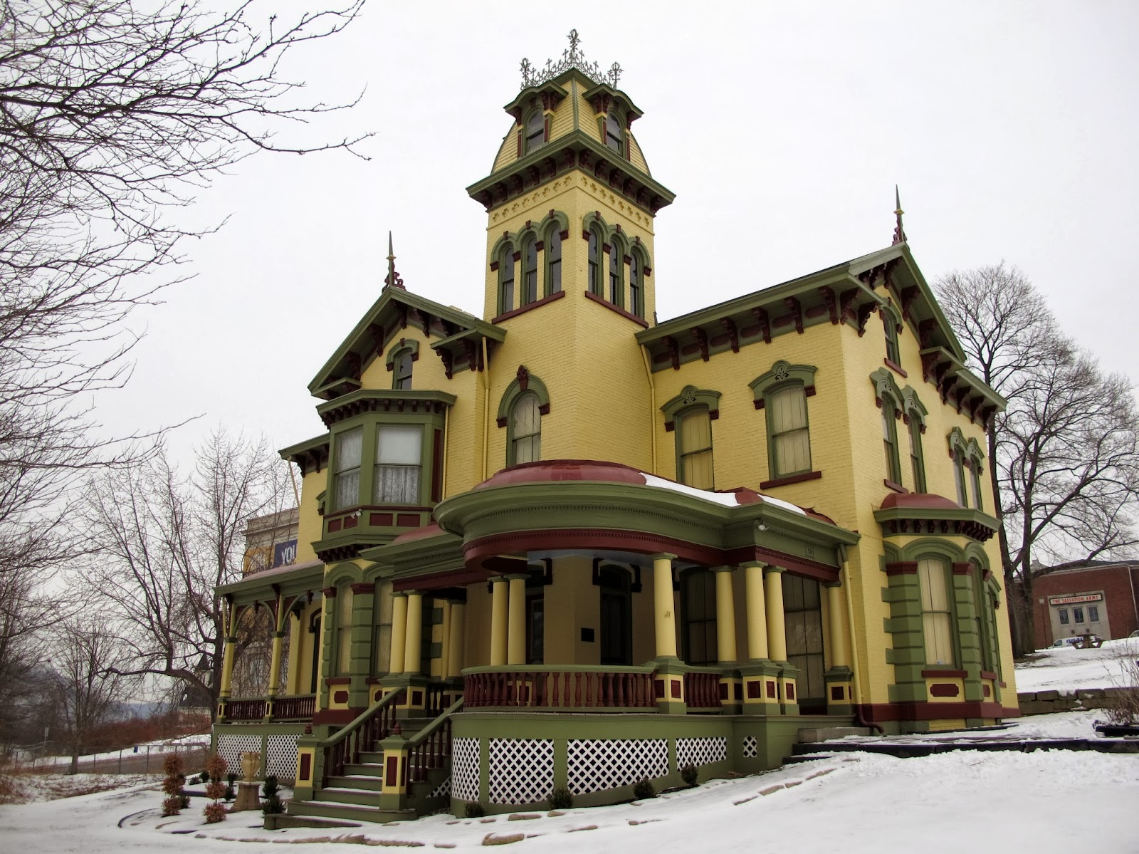 C.C. Thompson House in East Liverpool, Ohio