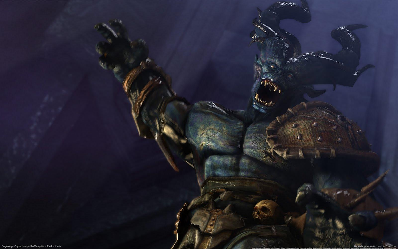 jami burch: dragon age origins wallpaper