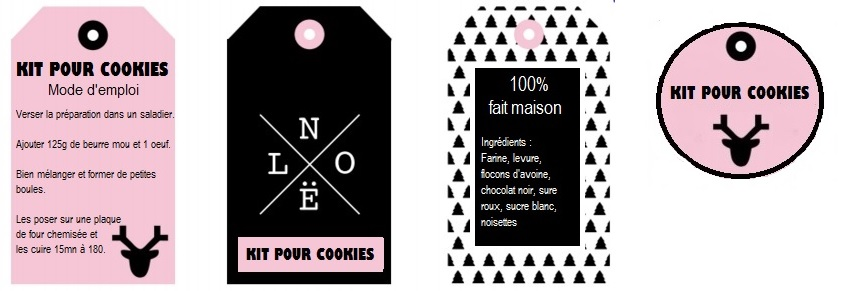 Favorit Papilles On/Off: Kit SOS Cookies aux chocolat et noisettes  IB02