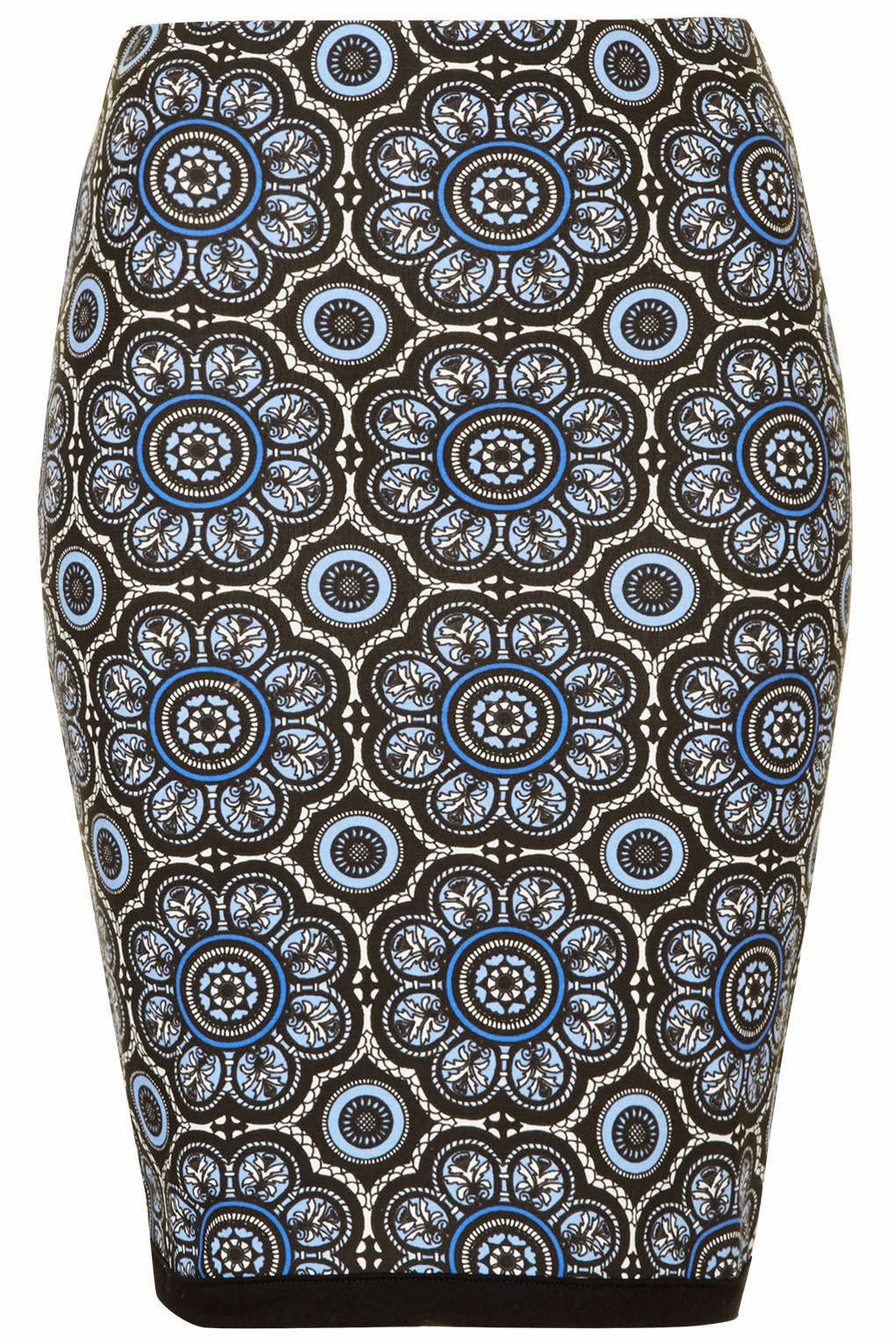 printed tube skirt
