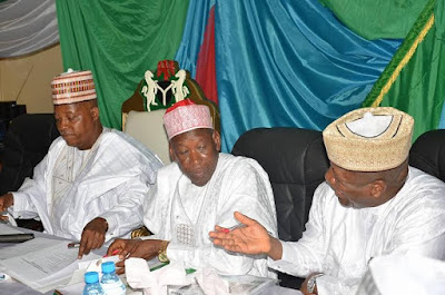 No 2 Pictures from Northern states of Nigeria governors meeting in Borno state.