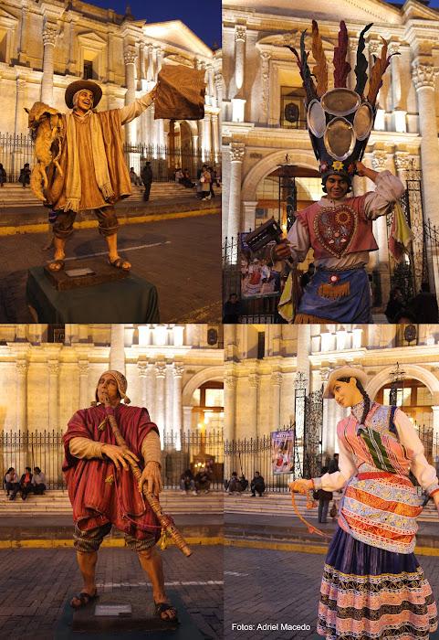 Danzas del Colca en esculturas 1