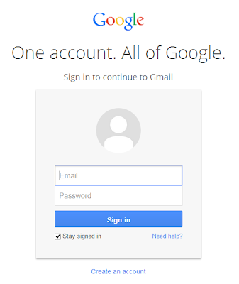 Google Account Login Page Redesigned