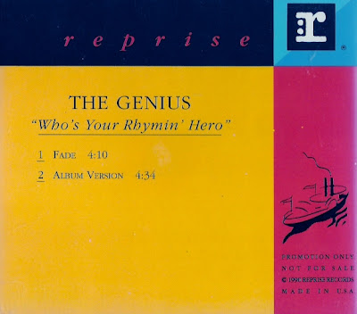 The Genius – Who's Your Rhymin Hero (CDS Promo) (1991) (320 kbps)