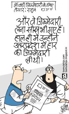 rahul gandhi cartoon, congress cartoon, election 2014 cartoons, assembly elections 2012 cartoons, indian political cartoon