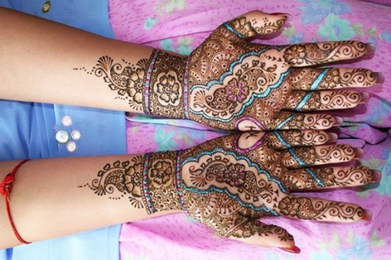 Mehndi Party List : Mehndi design for hands party teachers