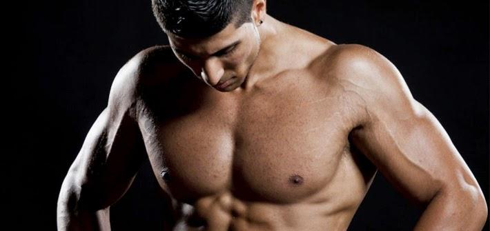 Exercícios simples para os músculos Iniciantes Shaping Peito