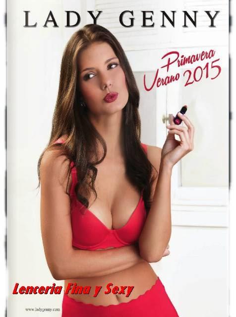 Catalogo Lenceria Lady Genny PV 2015