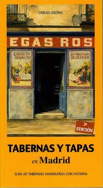 """Mis libros: """"Tabernas y Tapas en Madrid"""""""