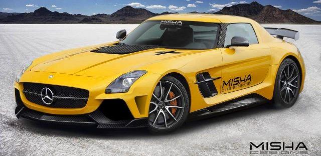 Modifikasi Mercedes Benz Misha Design