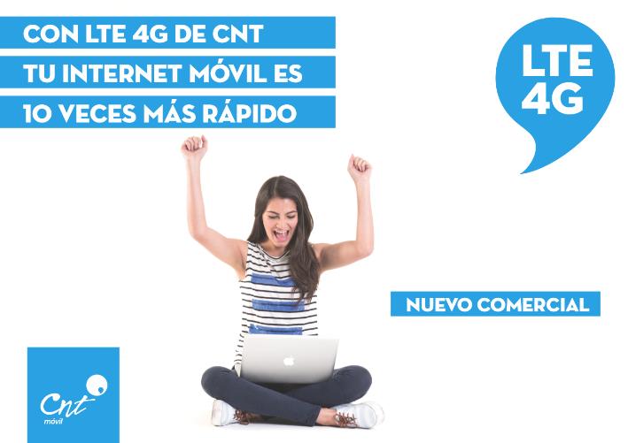 Campaña LTE 4G CNT