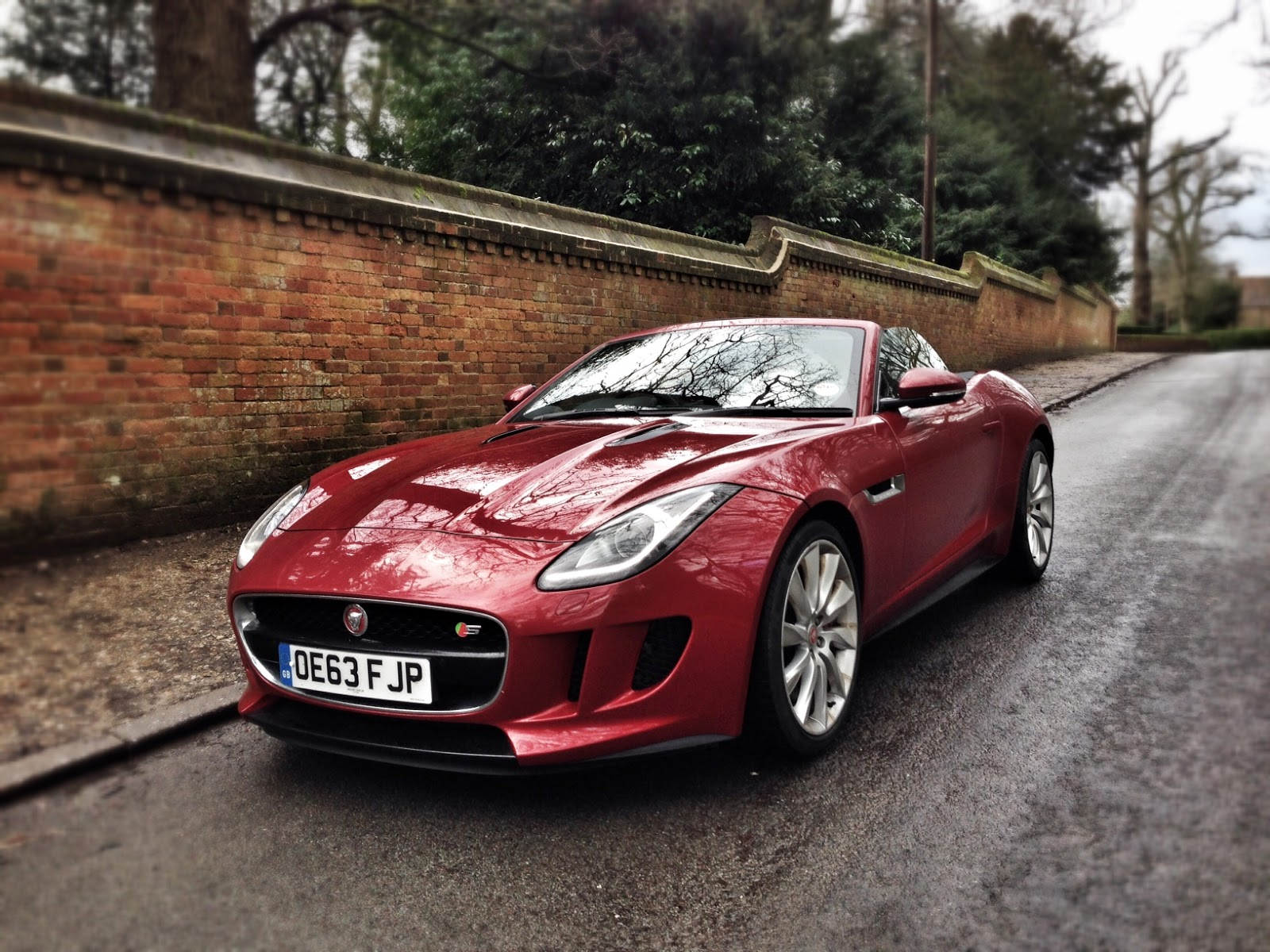 2014 Jaguar F-Type V8 S Convertible