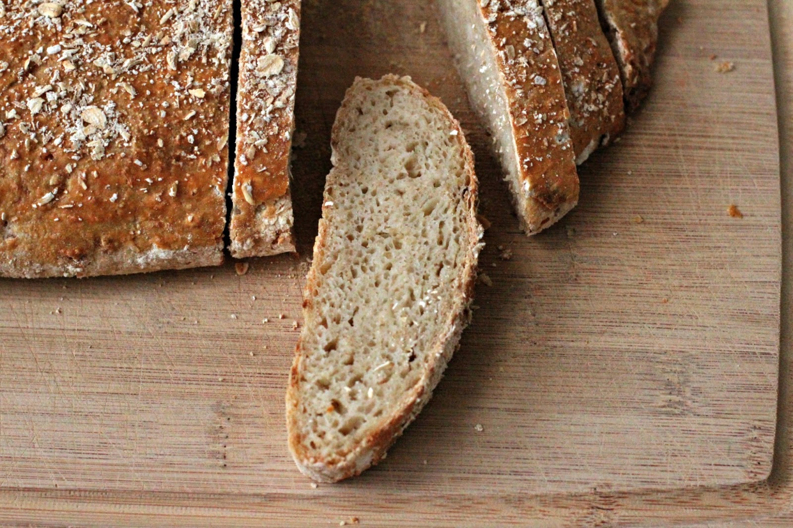 Milk and Honey: Rolled Oat and Apple Bread