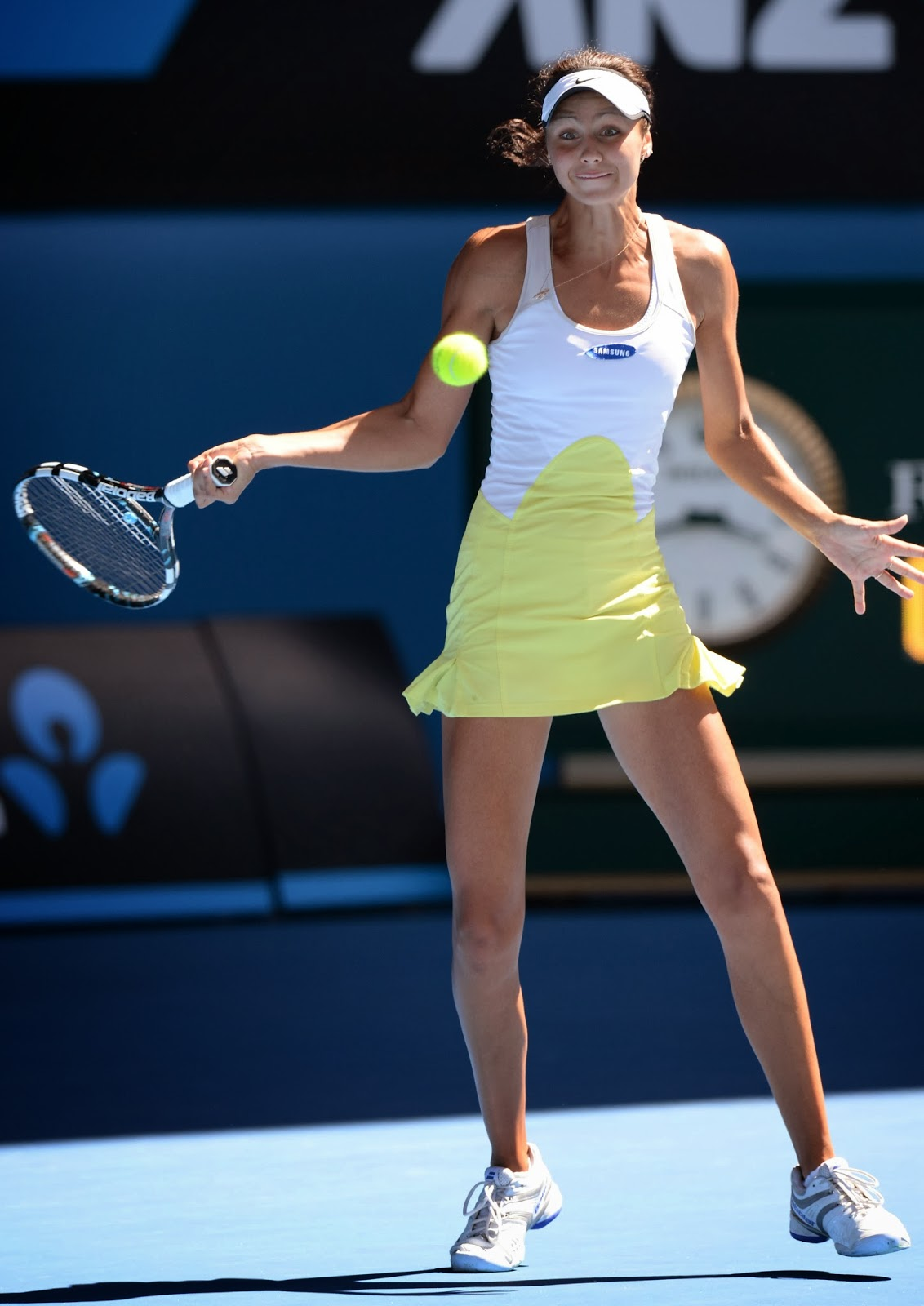 Elizaveta Kulichkova, Russia, Trophy, Victory, Winner, Girls, Singles, Final, Jana Fett, Croatia, Tennis, Australian Open, 2014, Melbourne, Tournament, Title, Match, Australia,