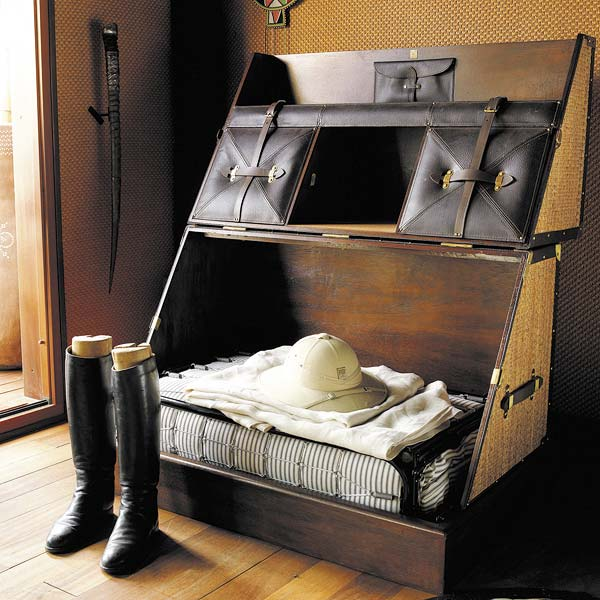 decorar con baules  antiguos - baul maleta de viaje de fibras