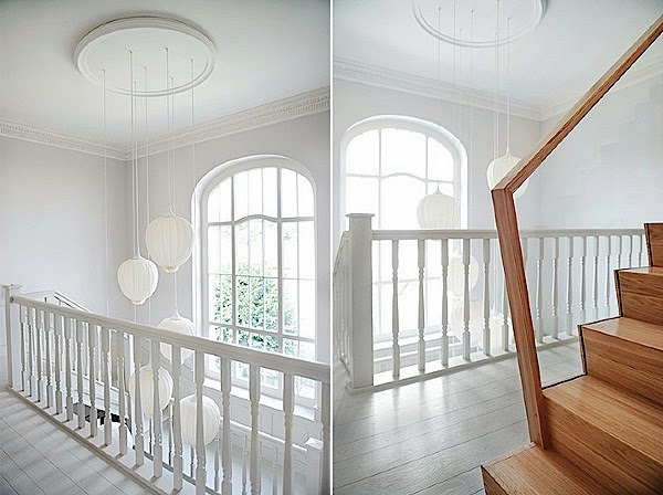 Classical american home interior design with soft color for American house interior design