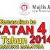Permohonan Kemasukan Ke Tingkatan 4 MRSM Tahun 2014 (Semenanjung Malaysia)