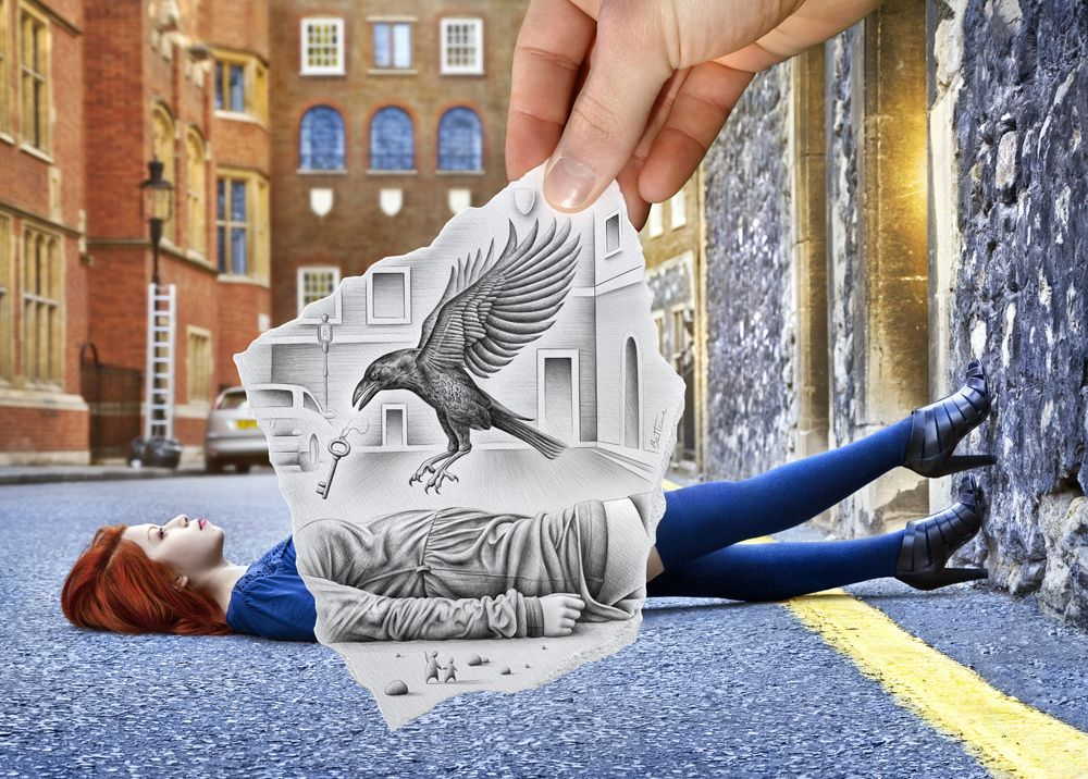 Pencil Vs Camera Artworks by BEN HEINE