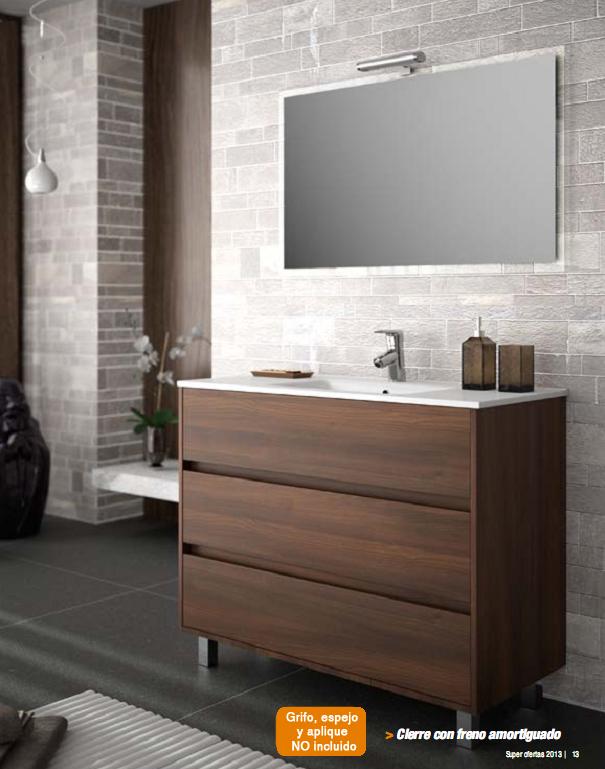mueble baño 3 cajones arenys  tu Cocina y Baño