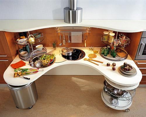 Оригинальная мебель для кухни своими руками