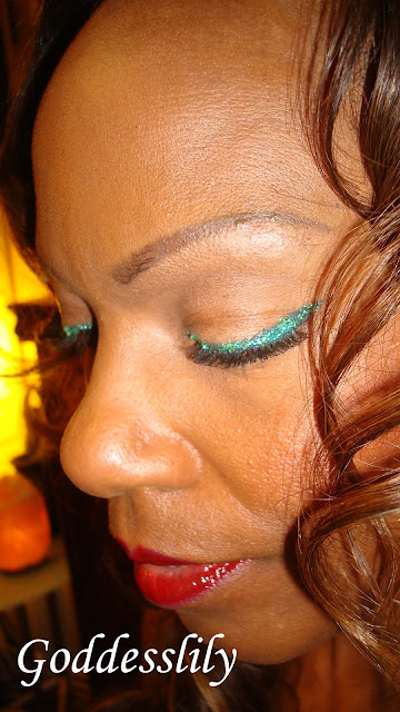 Mac Crystallized Yellow Blue Green Glitter