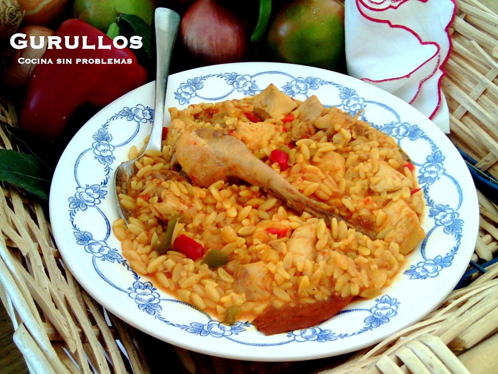 Cocina Murciana Recetas | Cocina Sin Problemas Gurullos Murcianos De Pollo Y Conejo