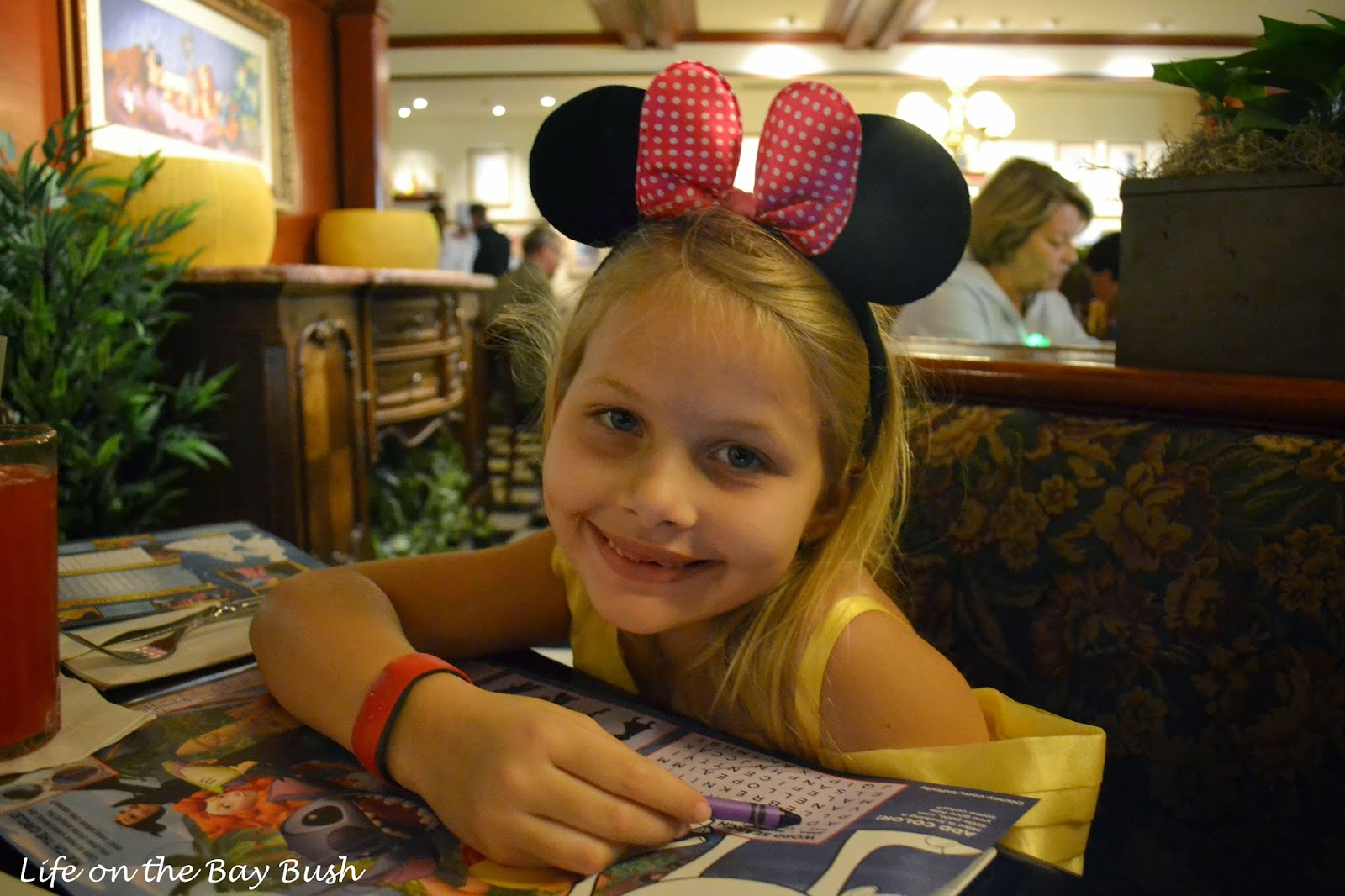 Disney's Magic Kingdom - Dining at Tony's Town Square