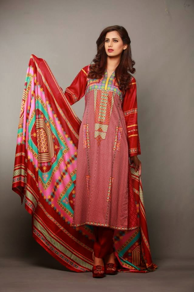 Summer Batik Lawn Collection 2015