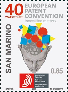 San Marino: 40th  Anniversary of the European Patent Convention (EPC) - www.aasfn.sm