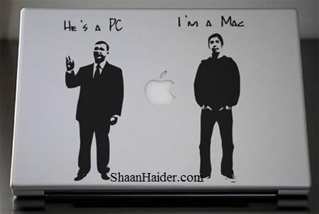 Geeky MacBook Stickers and Decals