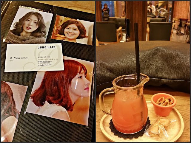 Juno Hair Salon (준오헤어) - Myeongdong  | www.meheartseoul.blogspot.com