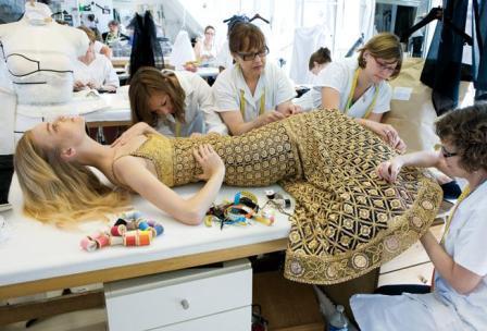Cherche inspiration haute couture chanel for Chambre syndicale de la haute couture