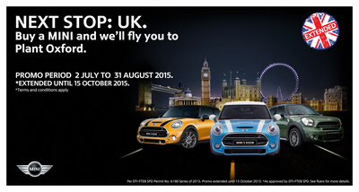 Buy MINI and Visit Plant Oxford