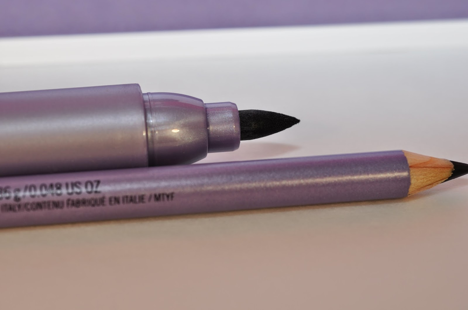 MAC Jumbo Penultimate Liner in Rapid Black, MAC Eye Kohl in Smolder