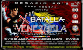 XII BATALLA DE VENEZUELA 2012