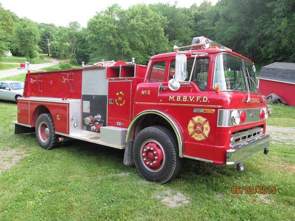 Heavy Duty Truck For Sale Ohio >> 1980 Ford Pierce C-900 Fire Truck | Auto Restorationice