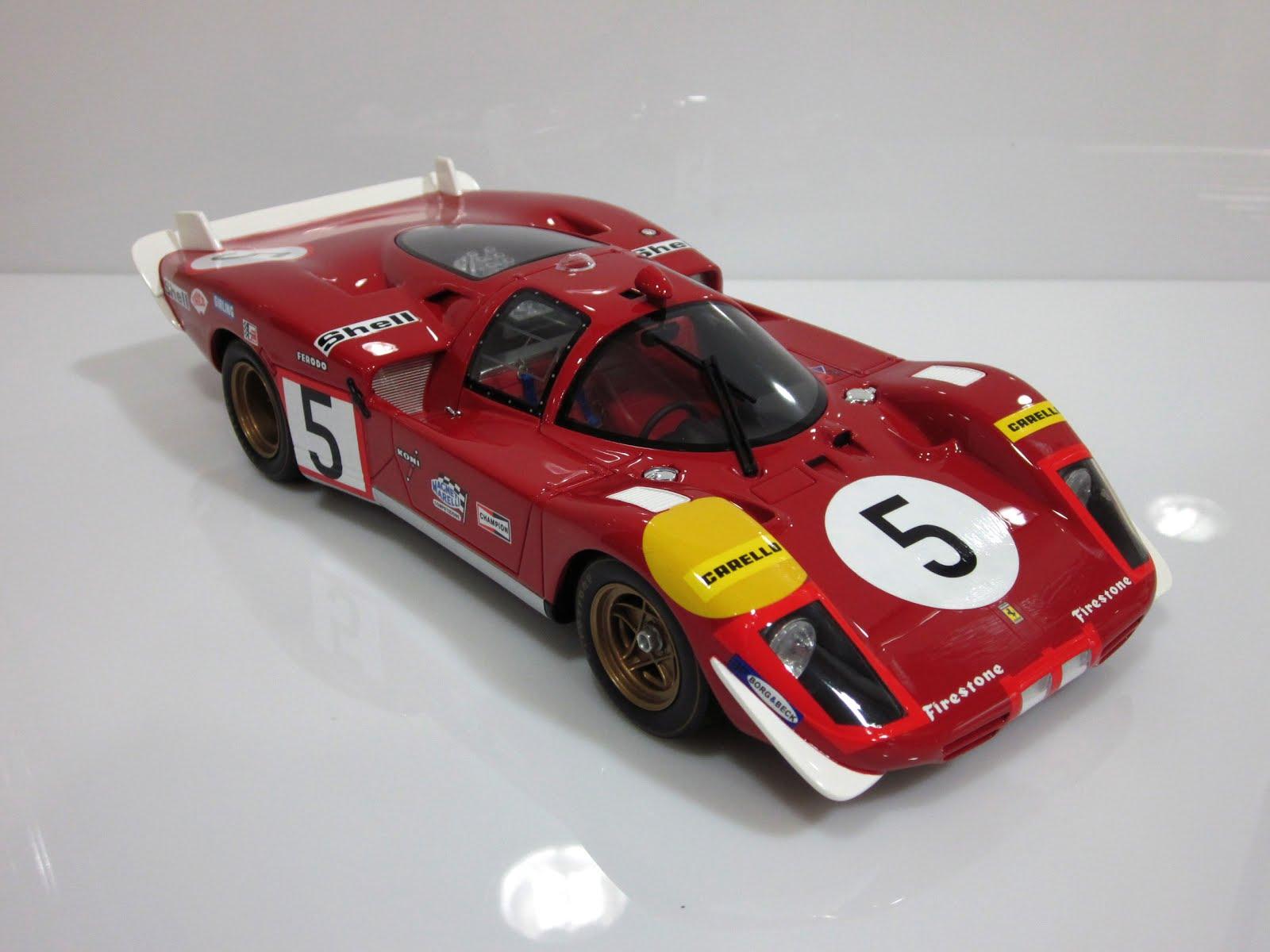 Ferrari 512 S Coda Lunga #5 J. Ickx / P. Schetty - 24 Horas de Le Mans 1970