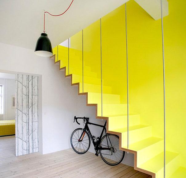 Vivid Staircase
