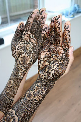 Mahendi Designs for Girls During Various Festivals