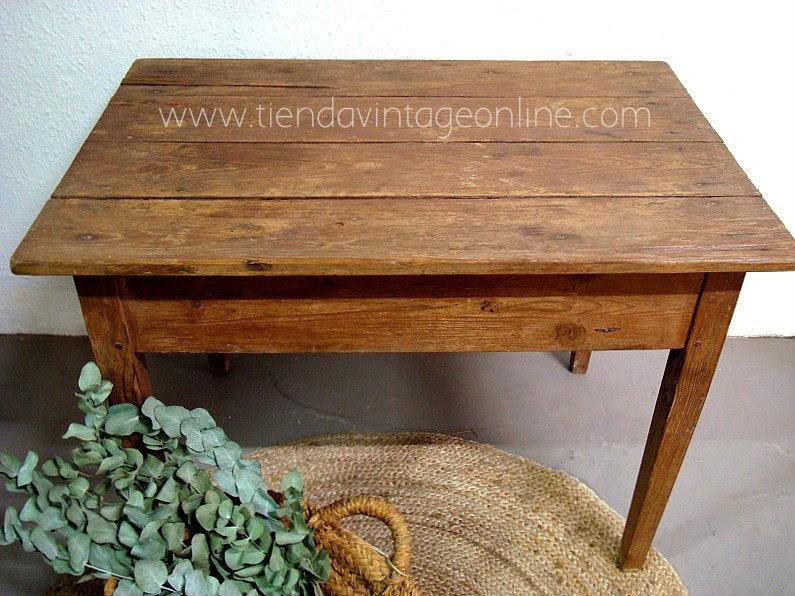 Mesas tocineras restauradas online. Anuncios y fotos de mesas tocineras vintage estilo rústico