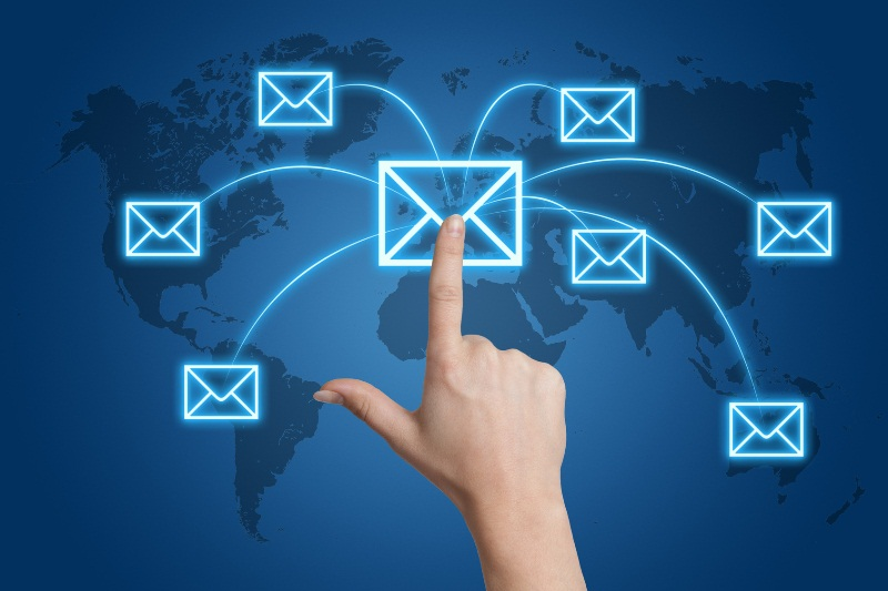 email marketing to reach out potential customers